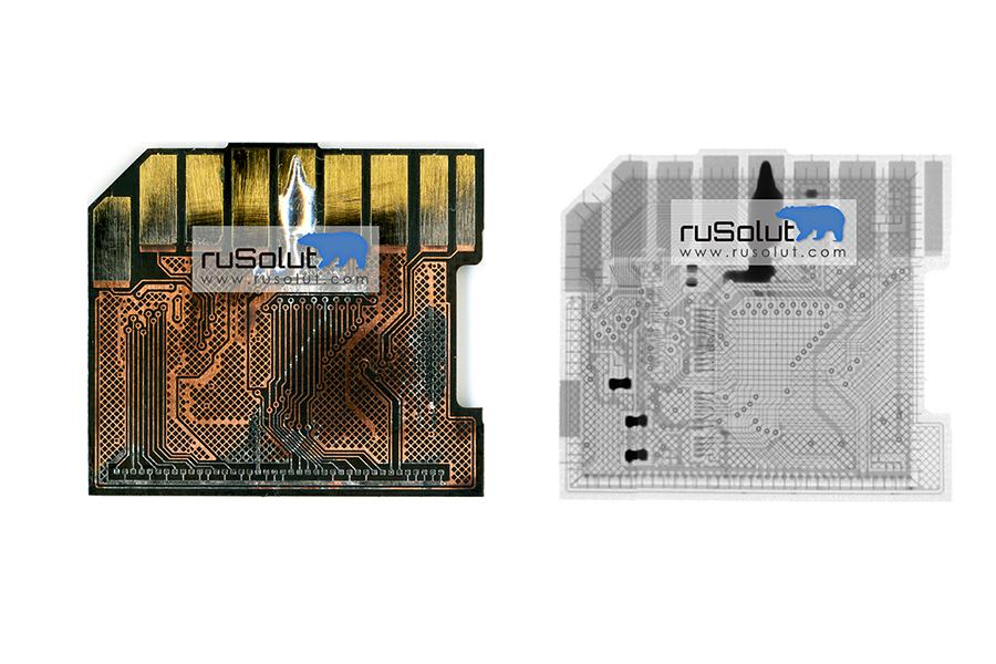 RUSOLUT | Monolithic SD card (monoSD1) - RUSOLUT