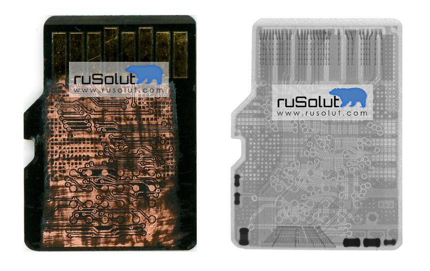 RUSOLUT | MicroSD Pinout (msd3) - RUSOLUT